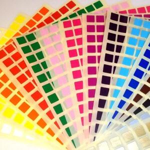 Colour Code Squares