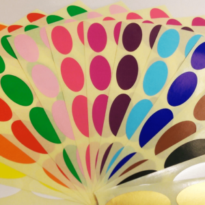 Colour Codes Ovals