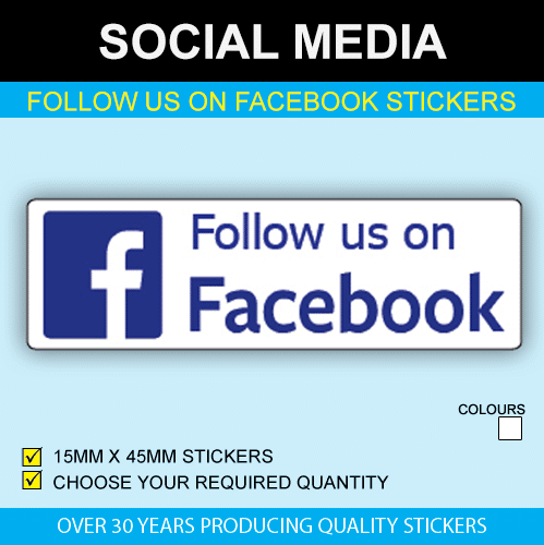 Follow Us On Facebook Stickers