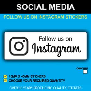 Follow Us On Instagram Stickers