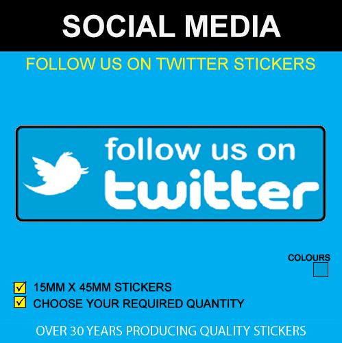 Follow Us On Twitter Stickers