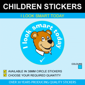 I Look Smart Today - Children's Stickers
