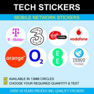 Mobile Network Phone Stickers