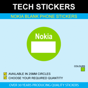 Nokia Blank Price Stickers