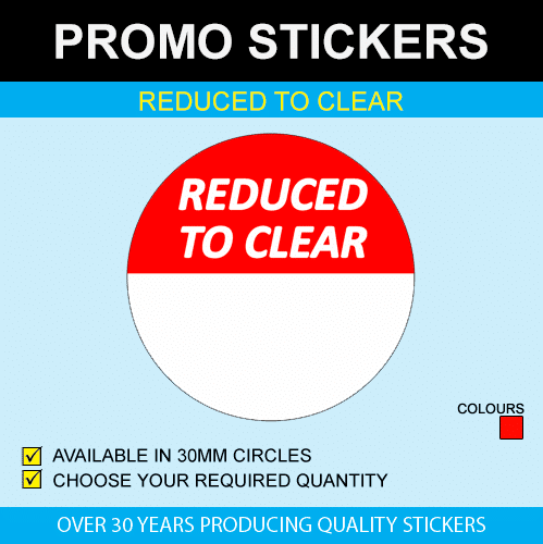 Reduced To Clear Stickers