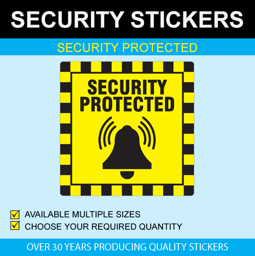 Security Protected Stickers