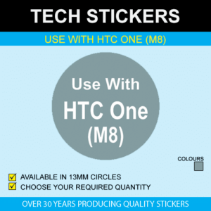 Use With HTC One (M8) Stickers