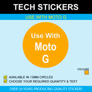 Use With Moto G Stickers